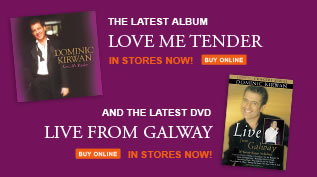 Dominic Kirwan Latest Album and DVD